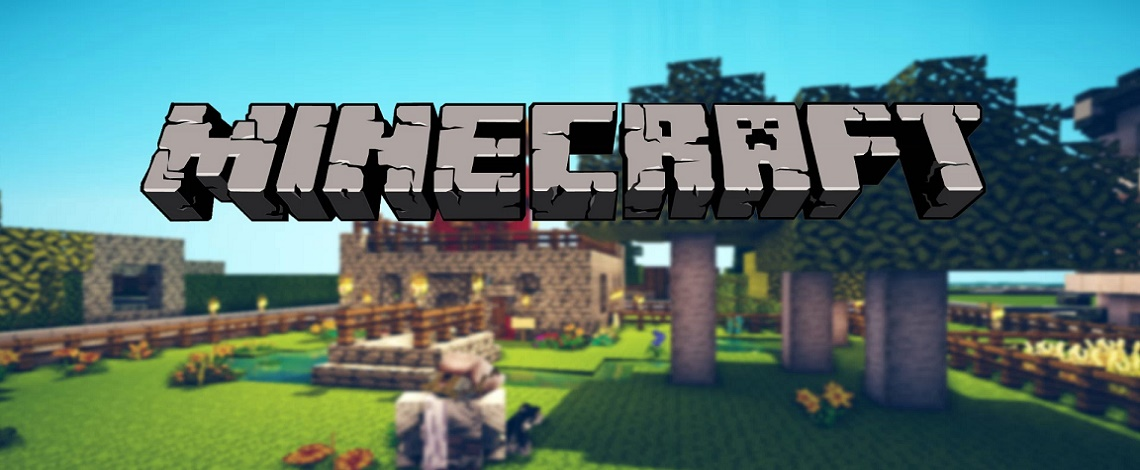Minecraft, a building construction, single player/multi-player video game
