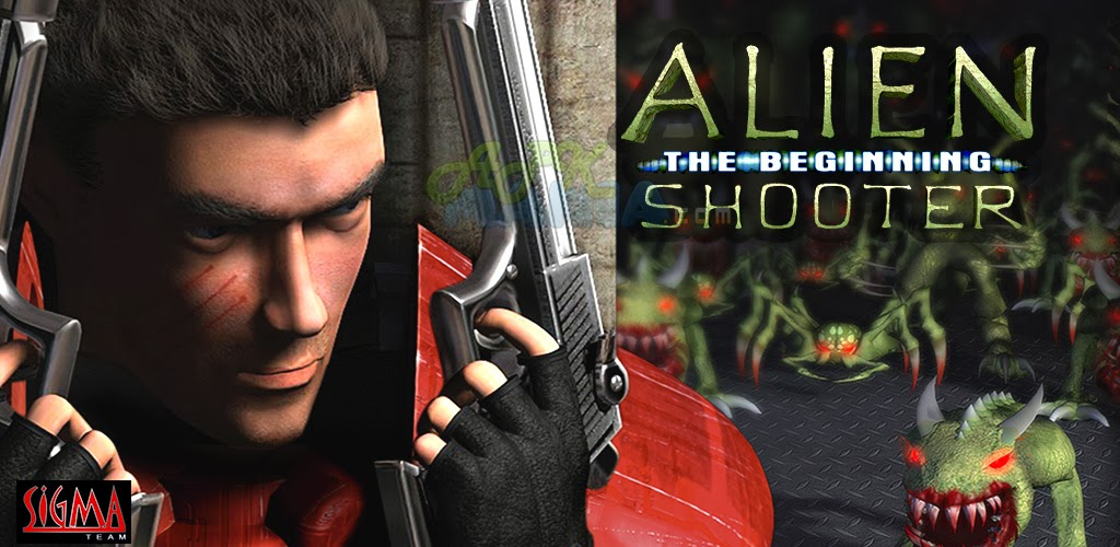 Alien Shooter 1, a single player shooting game against aliens attack for pc