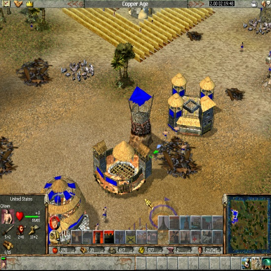 Empire Earth, a single player action, strategy game having civilizations and featuring war, fight and battleships. torrent