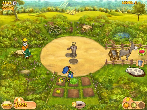 Farm Mania a strategy based single player pc game, having farm and pets