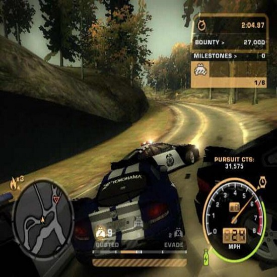 Need for speed Most Wanted(NFSMW) a single player car racing video game for pc