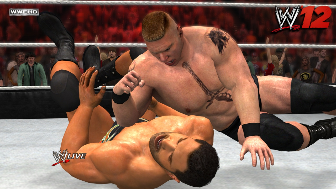 wwe raw real fight scene, game