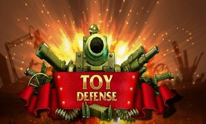 Toy Defense, a single player strategy game