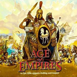 Age Of Empires, a multiplayer strategic war game for pc.