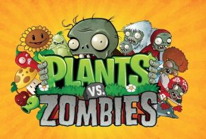 Plants vs Zombies, a single player, shooting game for kids featuring fungi, plants, zombies attack