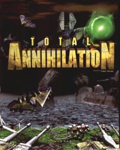 total annihilation, a war, shooting game for pc,